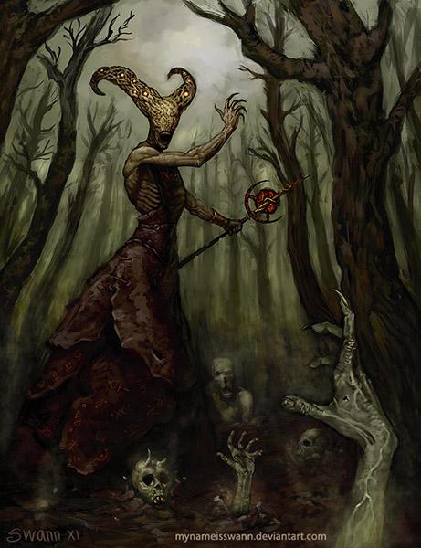 Necromancer by MyNameIsSwann