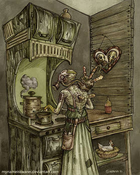 The Cook by AsyaYordanova