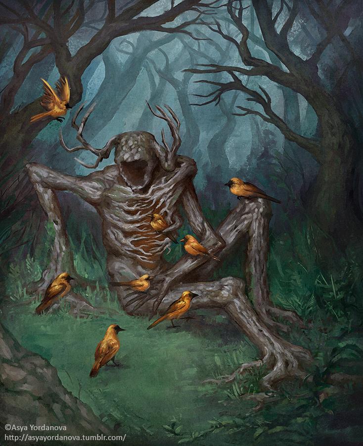 Tree Spirit by AsyaYordanova