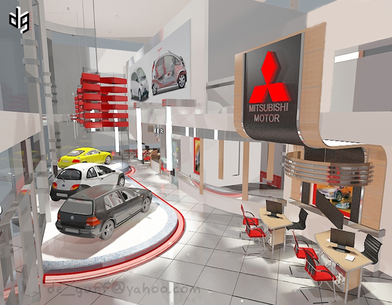 Mitsubishi Showroom By Deguff On DeviantArt