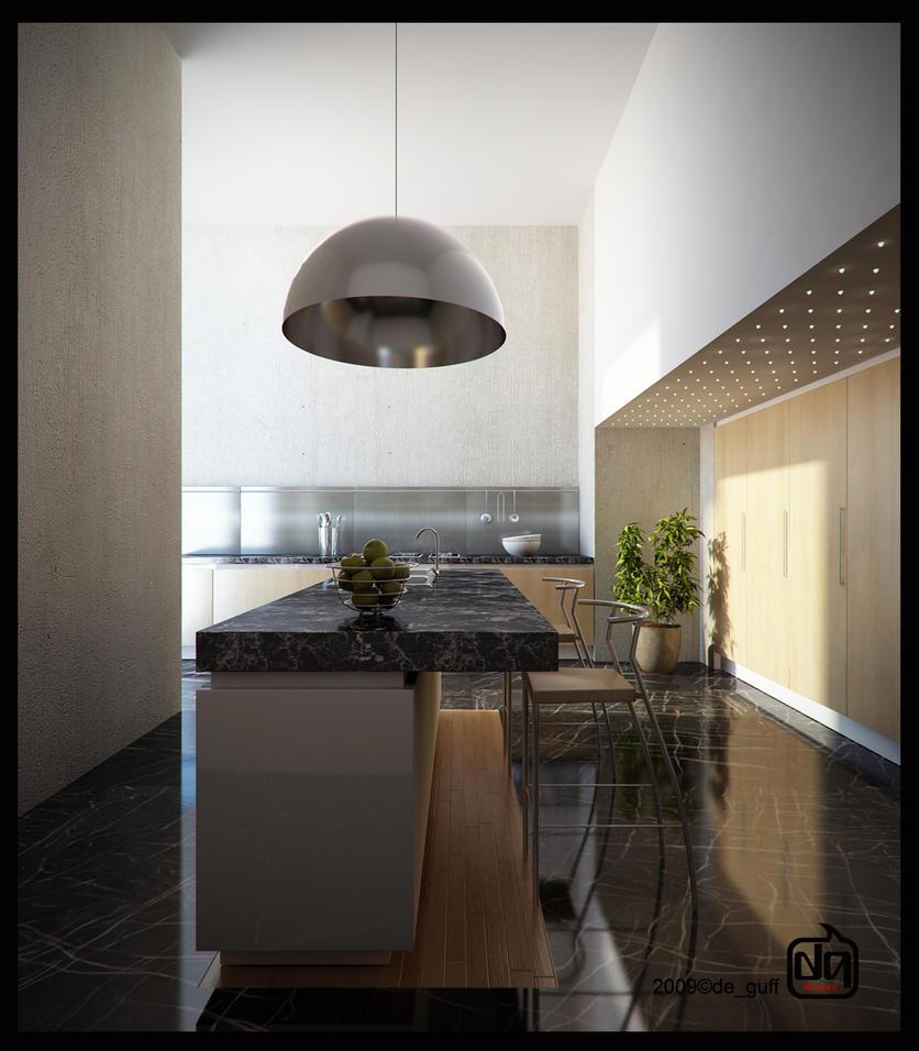 Kitchen by deguff