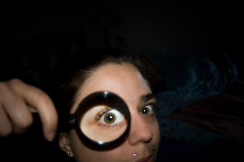 Magnifying glass madness 1 by StellaPhotos