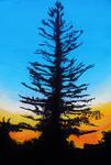 Summer Skies series painting 3