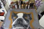 Dirty Dog by artestenciva