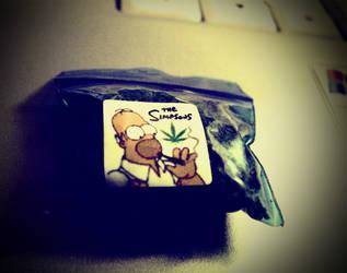 Smoking Homer
