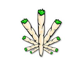 Joint Leaf by Club-Marijuana