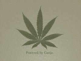Powered By Ganja by Club-Marijuana
