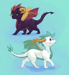 Spyro:  Year of the Dragon by momo-mia