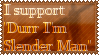 Durr I'm Slender Man Stamp 2 by Klomonx