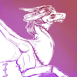 Dragon Lich by Klomonx
