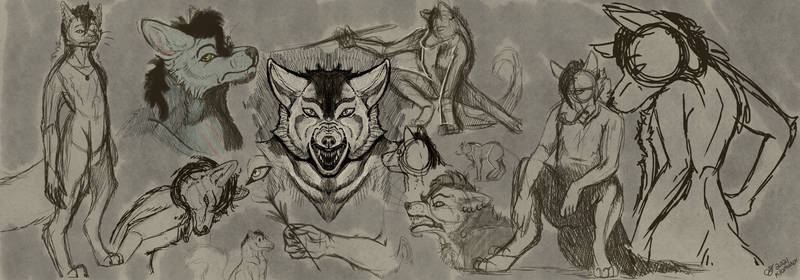 [Commission] Fuzzy Sketch Page