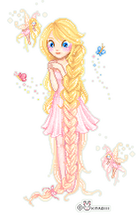 Rapunzel by Karoiii
