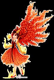 Phoenix by Karoiii