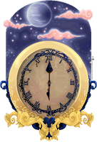 The Clock by Karoiii