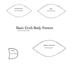 Basic Grub body pattern by gloryofzillyhoo