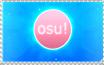 Osu! stamp by LMFeliciano