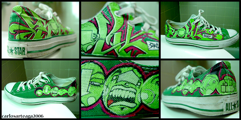 My Shoes are Green and Fresh by sleepisbad