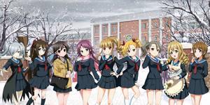 Seiran High School ( wallpaper )