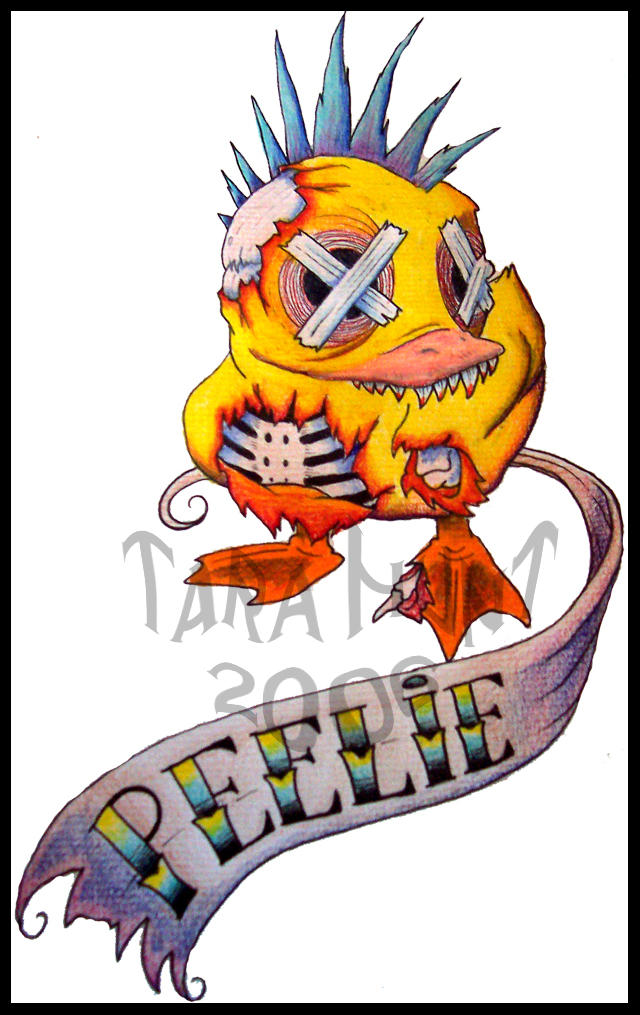 Rd S Dead Ducky Colored By Xeviousthegreat On Deviantart
