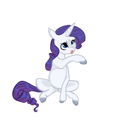 Look At How Cute I Am (Rarity) by Hippykat13