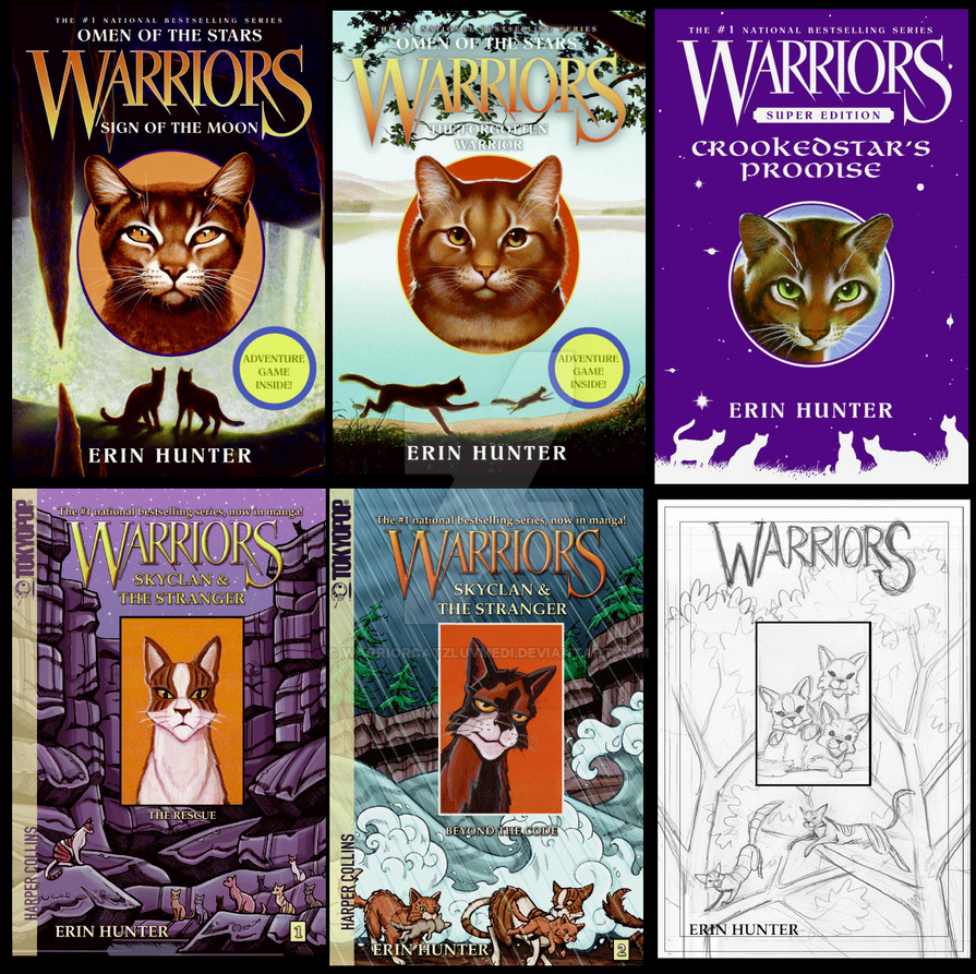 How Many Warriors Books By Erin Hunter Are There: UPCOMING WARRIORS BOOKS By WarriorcatzluvMedi On DeviantArt