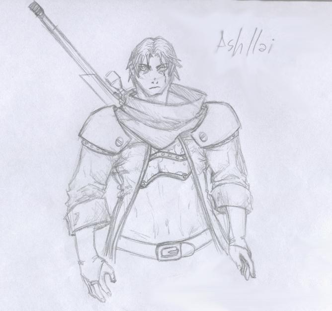 Character - Ashllai by SaTTaR