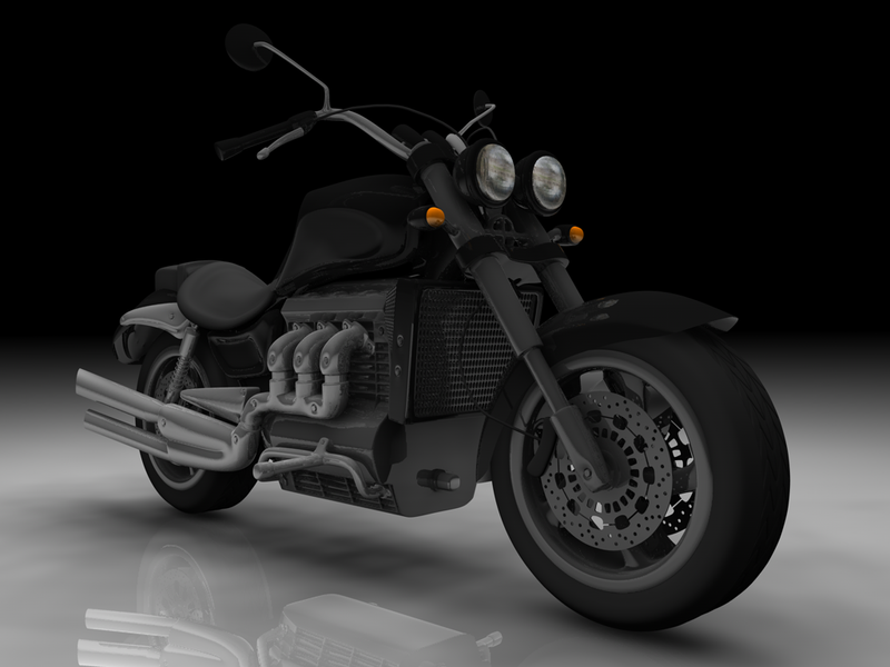Triumph Rocket III Texturized by SaTTaR