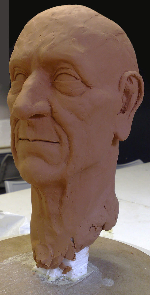 Oldie Sculpture by SaTTaR