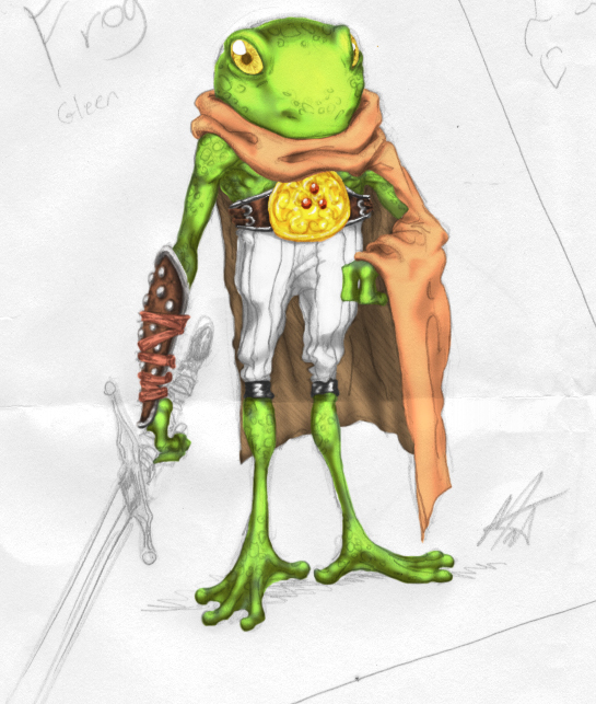 Froggy Knight by SaTTaR