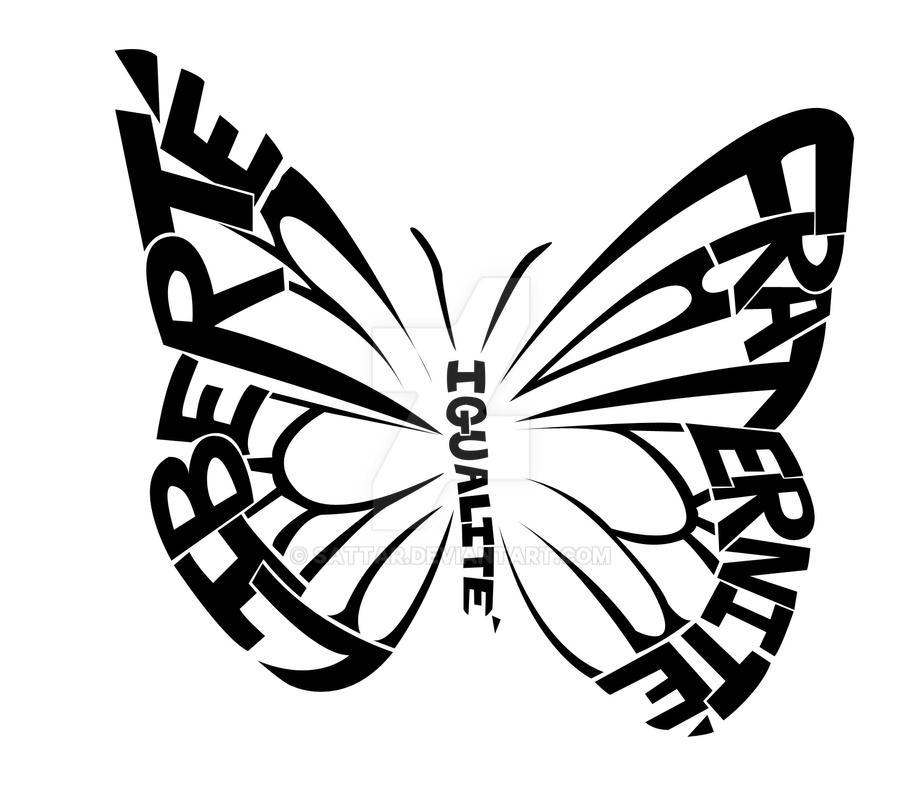 Liberte, Igualite, Fraternite by SaTTaR