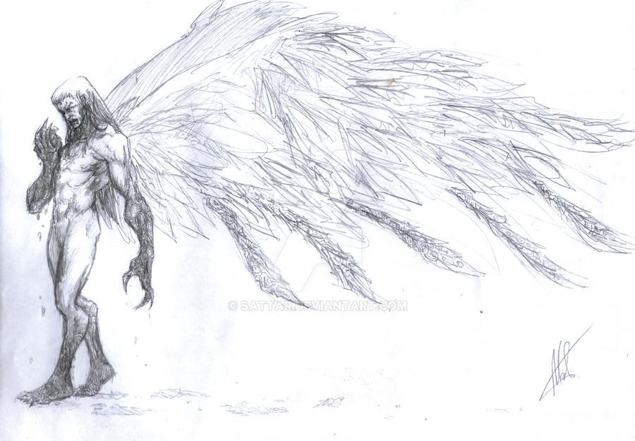Fallen Angel by SaTTaR