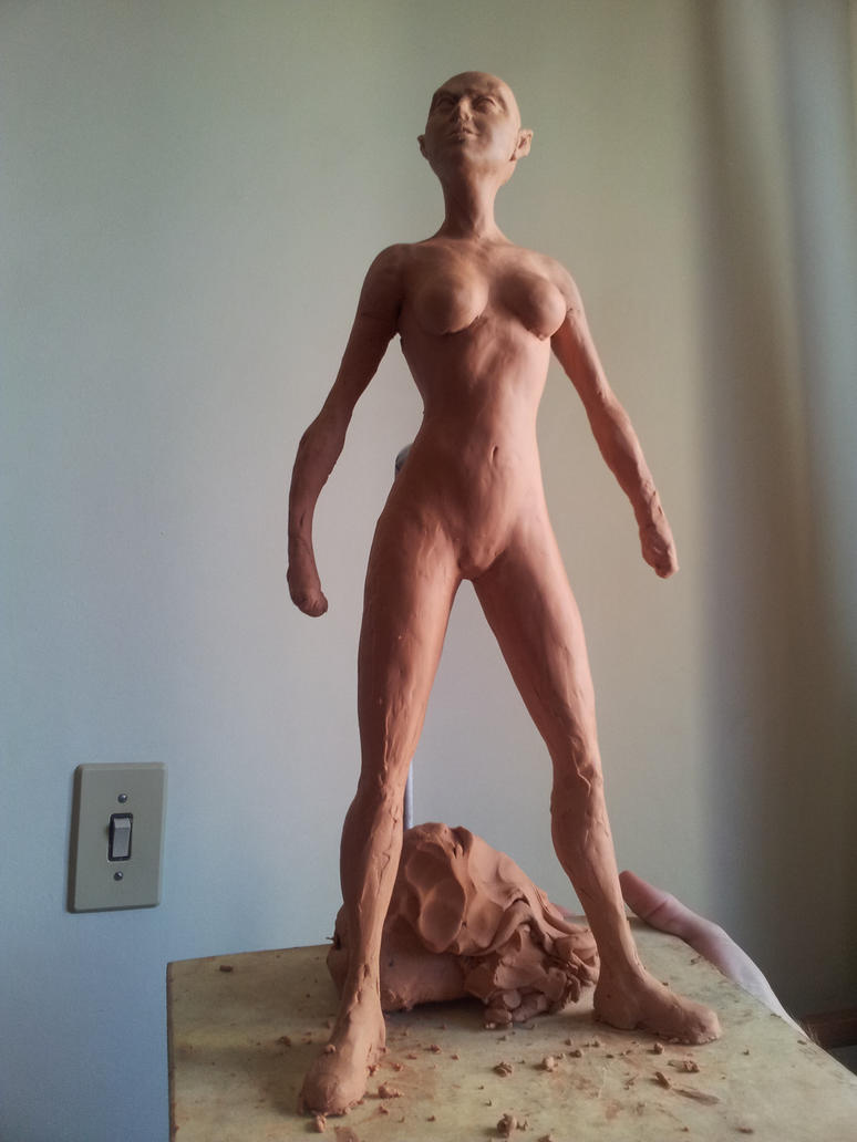 Sculture - Elfish Woman - Full by SaTTaR