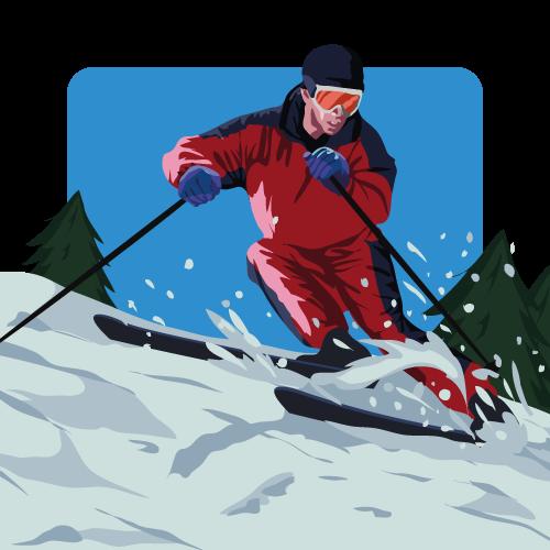 Memorymatch Extreme - Ski by SaTTaR