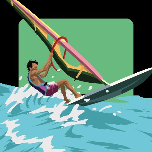 Memorymatch Extreme - Windboarding by SaTTaR