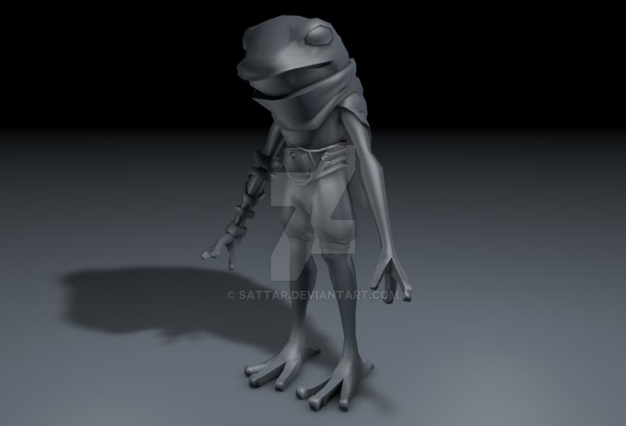 3D - Froggy Knight - Base by SaTTaR