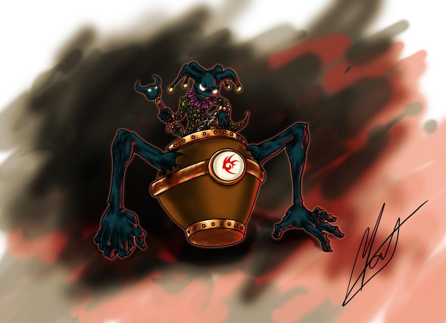 Clowy, the Shadow Fool by SaTTaR