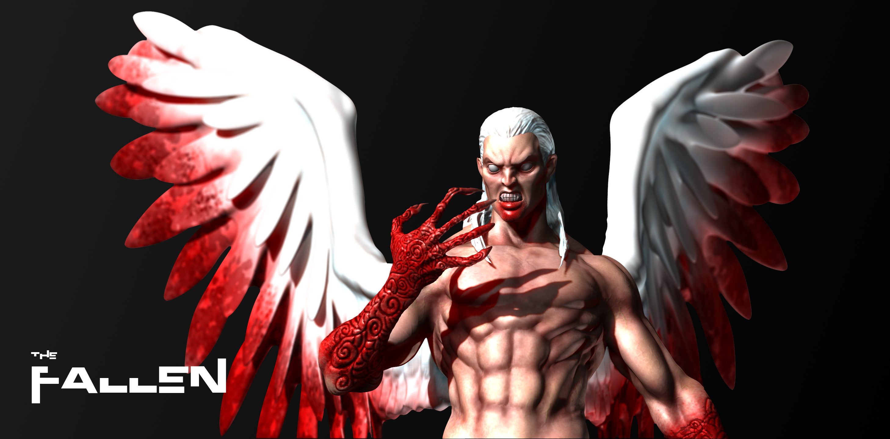 3D modelling - The Fallen (another perspective) by SaTTaR