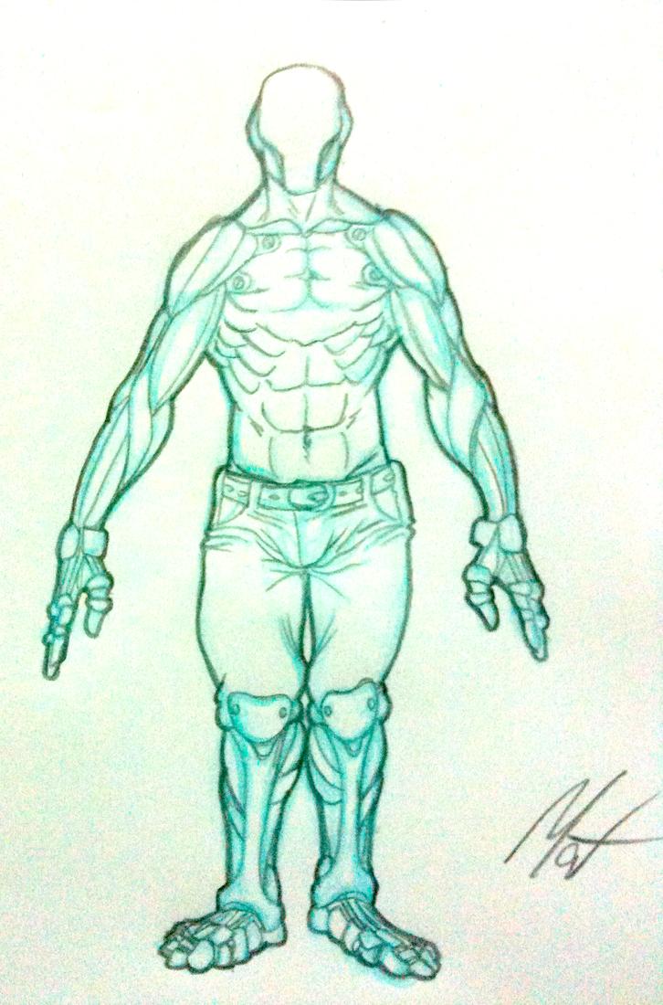 Exercise - Cibernetic Man by SaTTaR