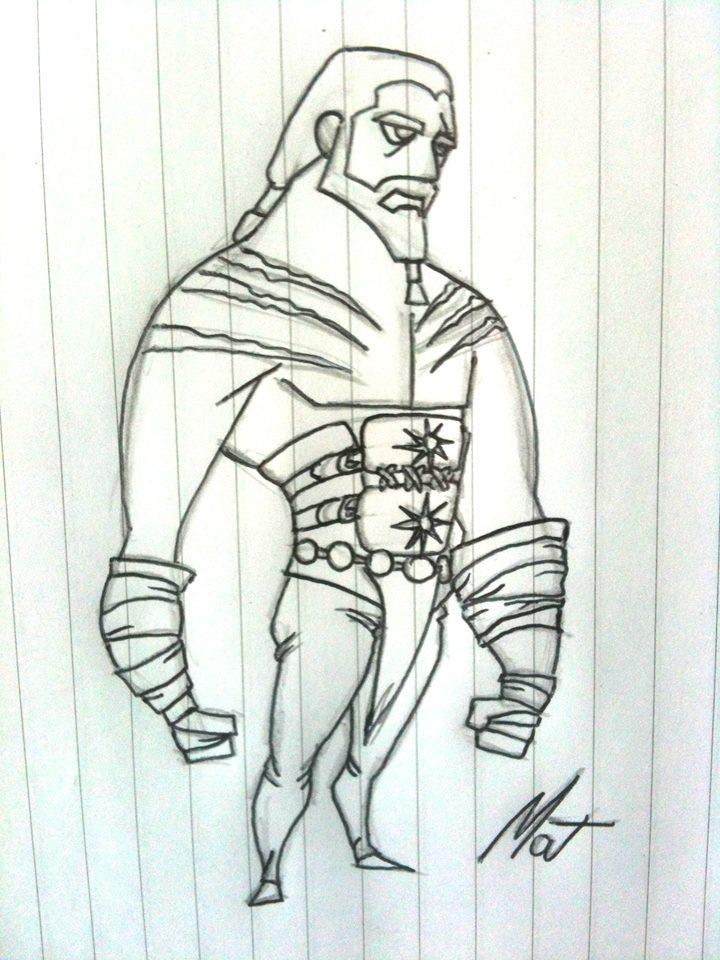 Cartoon - Khal Drogo by SaTTaR