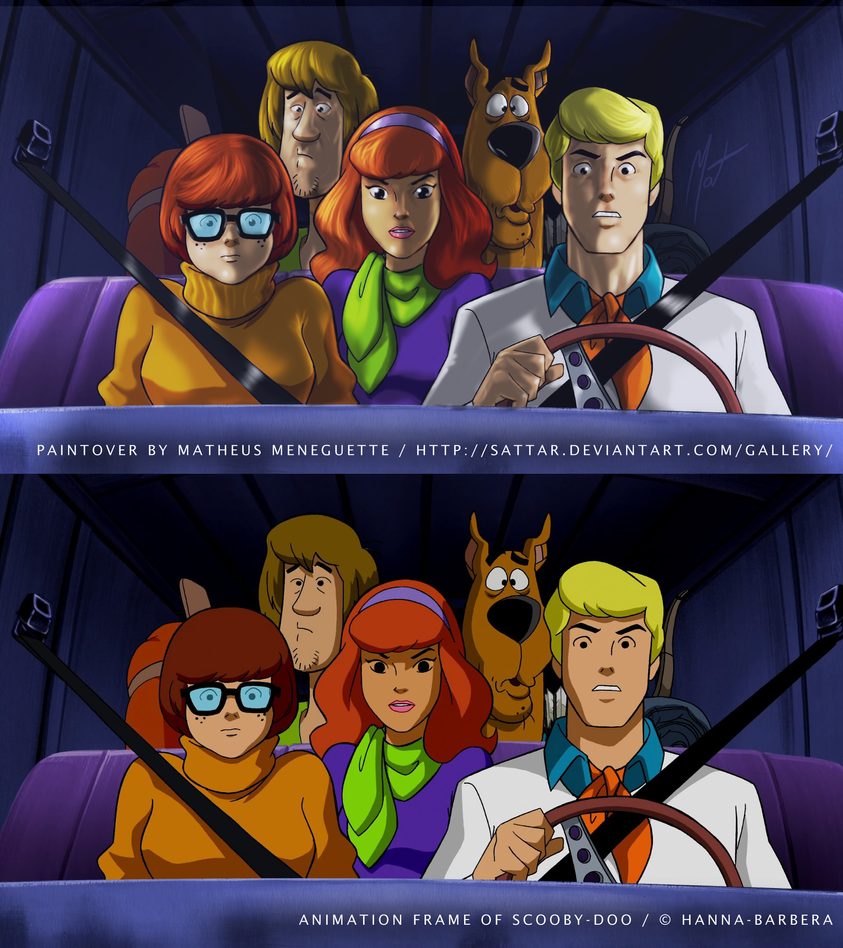 Paintover - Scooby-Doo by SaTTaR