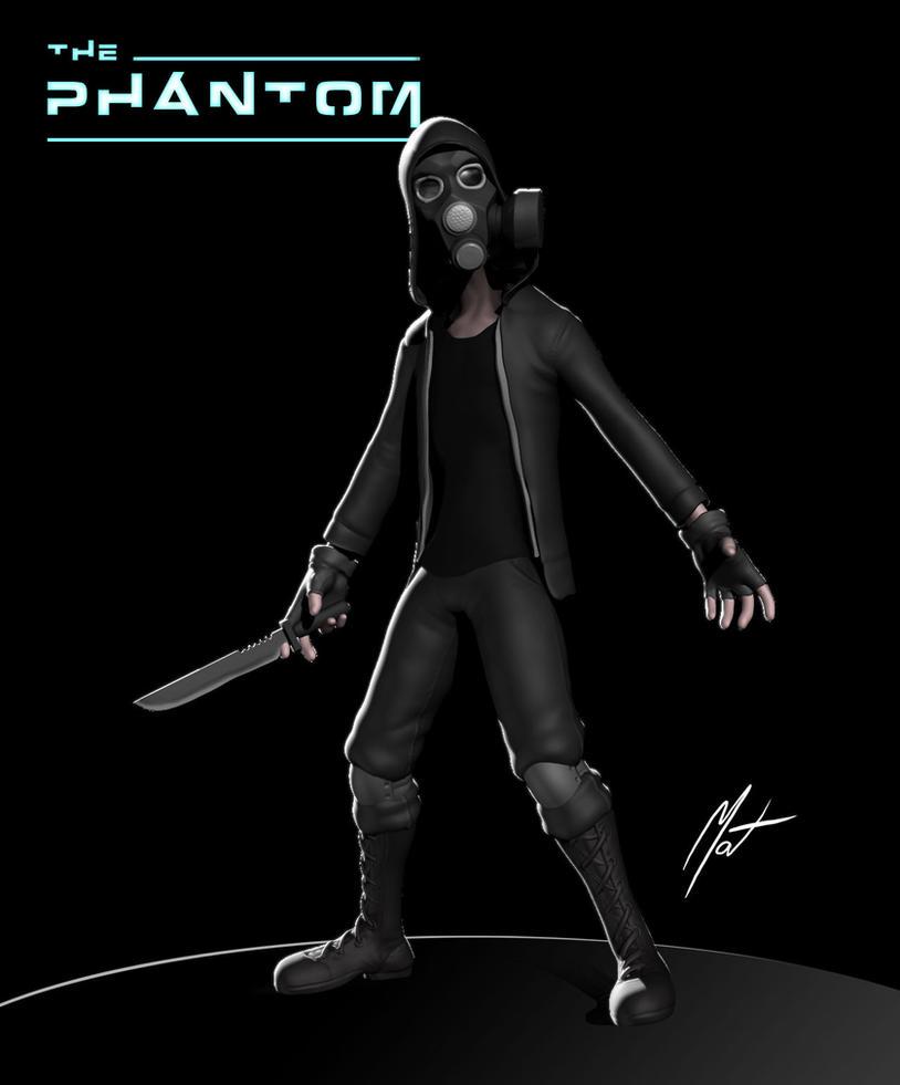 The Phantom - 3D by SaTTaR