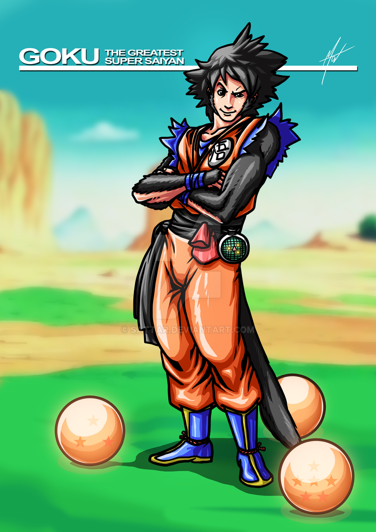 Character Redesign Challenge - Goku (DBZ) by SaTTaR