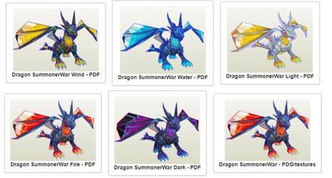 dragons summonerWar PDO PDF by enigmael