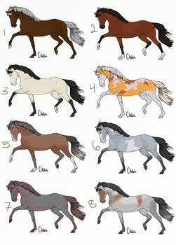 Horse Adopts 4/8 OPEN