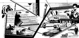 typography layout, drama --fd by fuzzydemon