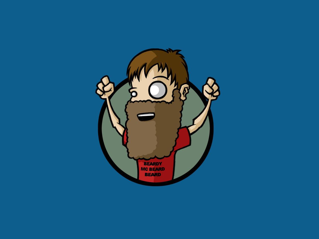 Party Beardo --fd by fuzzydemon