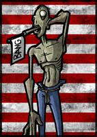 Pseudo Zombie --fd by fuzzydemon