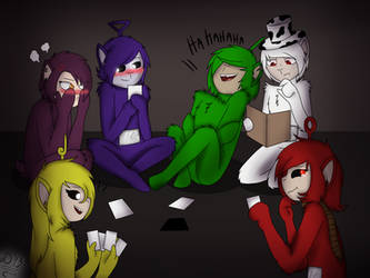 [Slendytubbies] Cards against Humanity~ by Domcia13