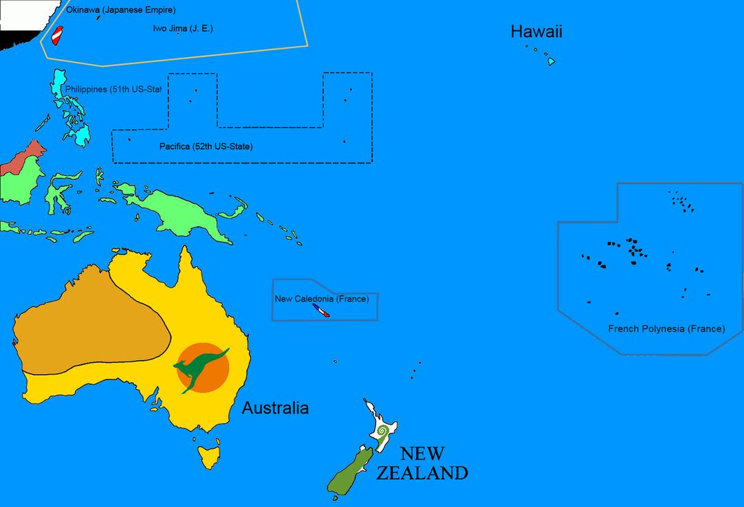 Worldwar 1975 Oceania by MTT3008
