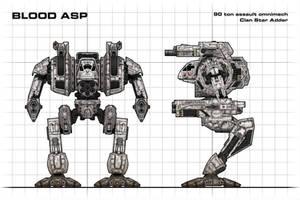 Blood Asp Blueprint